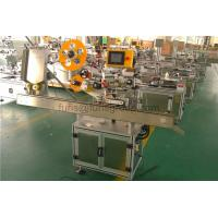 High Speed Label Applicator Adhesive Horizontal Labeling Machine For Small Bottle for sale