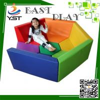 Wholesale Safe And Fun Soft Play Sponge , Daycare Playground Equipment 450 * 100 * 60 Cm from china suppliers