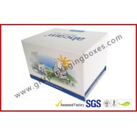 Wholesale Fashion Coated Paper Board Box, Rectangle Printed Rigid Gift Boxes For With Custom Logo from china suppliers