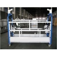 Wholesale 10M Safe ZLP630 Aluminium Alloy Rope Suspended Platform Cradle Swing Stage from china suppliers