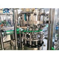 China 2 In 1 Can Filling Machine  Rotary Liquid Filling Machine 1500bph on sale