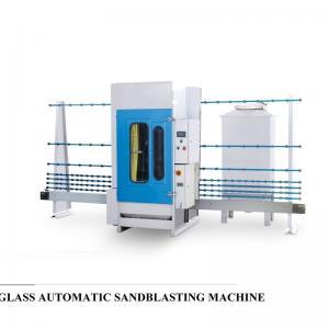 Wholesale Professional Auto Glass Edging Machine , Vertical Sandblasting Glass Equipment from china suppliers