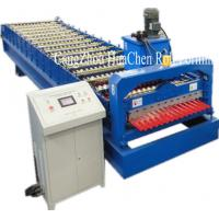 Best High Speed Corrugated Wall And Siding Panel Roll Forming Machine , Metal Wall Siding Sheet Making Machine wholesale