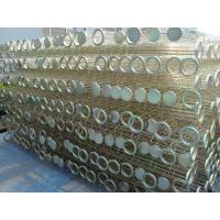 Galvanized / Silicon Industrial Dust Collector Filter Bags Cage High Tensile