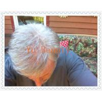 Best Grey hair toupee, invisible knot very natural hair line swiss lace ,french  toupee wholesale