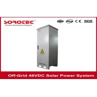 China 50A Solar DC Power System , Reliable 48 vdc power supply for Power Plant,Remote Monitoring on sale