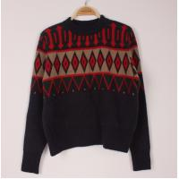 China Warm-keeping Mens Wool Sweaters Long Sleeve Knit  Christmas Pullover Sweater Jumper on sale