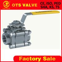 Wholesale 3 piece body ball valve from china suppliers