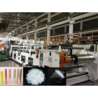 Wholesale Twin Screw PET Sheet Extrusion Machine, Using Bottle Regrind Flakes As Raw Material, Dryer free from china suppliers