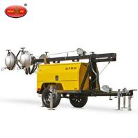 Wholesale QLT M10 Mobile Vehicle Mounted Diesel Tower Light from china suppliers