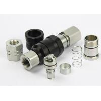 Buy cheap Avoiding Toughness Flat Faced Hydraulic Coupler Chrome Three LSQ-VEP Thread from wholesalers