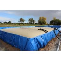 China Flexible PVC Inflatable Pool For Fish , Shrimp Collapsible Water Tank for sale