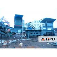 China Reasonable Matching Mobile Crushing Plant 54t Portable Rock Crusher on sale