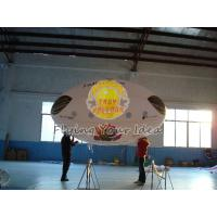Wholesale 3.5*2m Reusable Inflatable Advertising Oval Balloon,0.18mm helium quality PVC with Two side printing for opening events from china suppliers