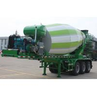 Wholesale 12m3 Concrete Mixer Semi Trailer Truck 9970x2500x3940mm Outline Dimension from china suppliers