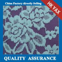 Wholesale 2014 china factory price hot selling three scalloped lace fabric/Stretch lace fabric from china suppliers