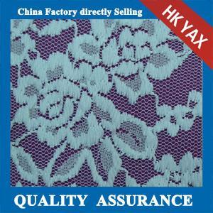 Wholesale YAX China supplier wholesale YX2765 Chinashow White organic cotton lace fabric,fashion organic cotton lace fabric from china suppliers