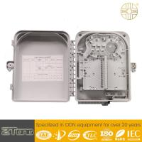 Wholesale Outdoor FTTH  Distribution Terminal Box , 12-24 Core Fiber Optic Wall Box from china suppliers
