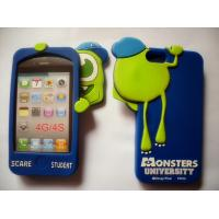 Wholesale Monsters University Phone Case 3D Silicone Mobile Covers For Iphone 4 / 4S from china suppliers