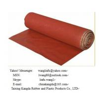 Wholesale Silicone coated fiberglass fabric ---double side from china suppliers