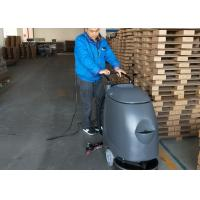 Plastic Walk Behind Floor Scrubber With Electric Cable For Can Factory