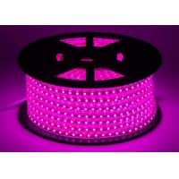 Wholesale Pink IP67 High Voltage LED Strip W12.5mm * H7.5mm Size Long Lifespan from china suppliers