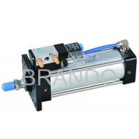 Wholesale 4V Series Aluminum Air Cylinder Valve Double Acting , Cylinder Solenoid Valve from china suppliers