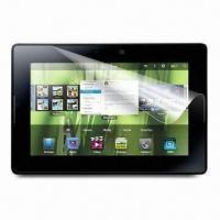 Wholesale Clear Screen Protector, Ideal for RIM's BlackBerry PlayBook from china suppliers