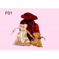 Buy cheap Colorful Gift Pouch, Customized Design Velvet Jewelry Pouch With Drawstring from wholesalers
