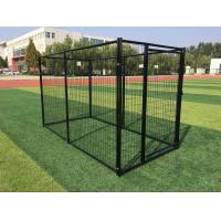 Wholesale Powder Coated Outdoor Metal Dog Kennel Welded Wire Mesh 3000mm Length from china suppliers