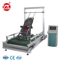 Wholesale Stroller Bump Wear Test Instrument , Wheeled Suitcase Abrasion Testing Equipment from china suppliers