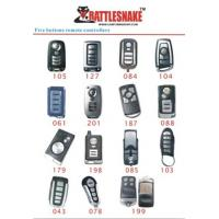 Wholesale 5 button Car Alarm Remotes control controlle, 433Mhz, 75m - 100m distance with CE, ISO9000 from china suppliers