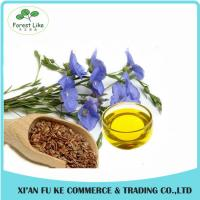 China Medicine or Food Use Cold Pressed Flax Seed Oil on sale