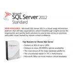 China Microsoft SQL 2012 Standard , MS SQL 2012 Standard Original COA Label For Windows Mac PC for sale