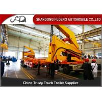 Wholesale 40FT Diesel Engine Side Loader Trailer Mechanical Ladder Hydraulic Side Loader from china suppliers
