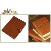 China OEM high quality cheap customized journals diary notebooks / leather journal printing service on sale