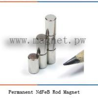 Wholesale Permanent NdFeB Rod Magnet from china suppliers