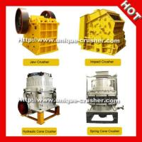 China Jaw Stone Crusher Machinery on sale