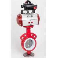 Wholesale Dyeing Machine Parts , Pneumatic Clamp Butterfly Valve from china suppliers