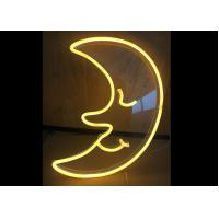 Wholesale Moon LED Neon Signs Neon Sign Light For Club / Canteen Warm White Color from china suppliers