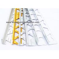 Wholesale Pre Polished Bright Chrome L Angle Aluminium Tile Edge Trim 6mm / 8mm / 10mm  / 12mm from china suppliers