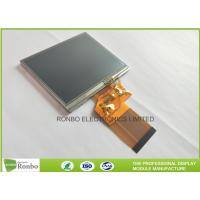 China 320 * 240 Resolution 3.5 Inch Lcd Display Touch Screen 300cd / M² Brightness for sale