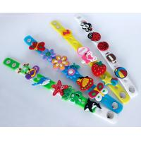 Wholesale 3D PVC Wristband with Buckle DIY Gifts from china suppliers