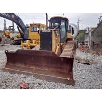 2cbm Blade Used Crawler Bulldozer , D5M Second Hand Dozers A/C Cabin Owner for sale