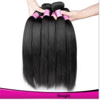 Wholesale Hot Sales Black Hair Weft Straight Virgin Brazilian Hair Natural Color Black Hair from china suppliers