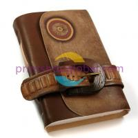 China OEM customized leather journals/diary/notebooks with NICE elastic Colsure on sale