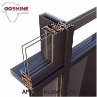 Wholesale 6063 T5 Powder coating curtain wall aluminum profiles for Kuwait from china suppliers