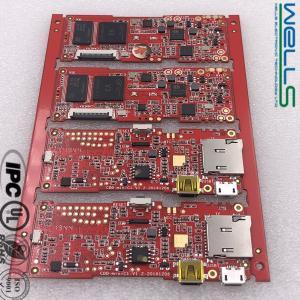 China Electronic Turnkey PCB Assembly Service FR4 HASL ENIG OSP Surface Finishing on sale