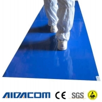 Wholesale Lab Hospital Static Dissipative 50um 26x45'' ESD Sticky Mat from china suppliers