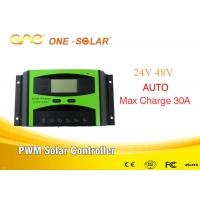 ONE INVERTER Off Grid 30A 24v/48v PWM Solar Smart Controller For Solar Panel Inverter Battery for sale